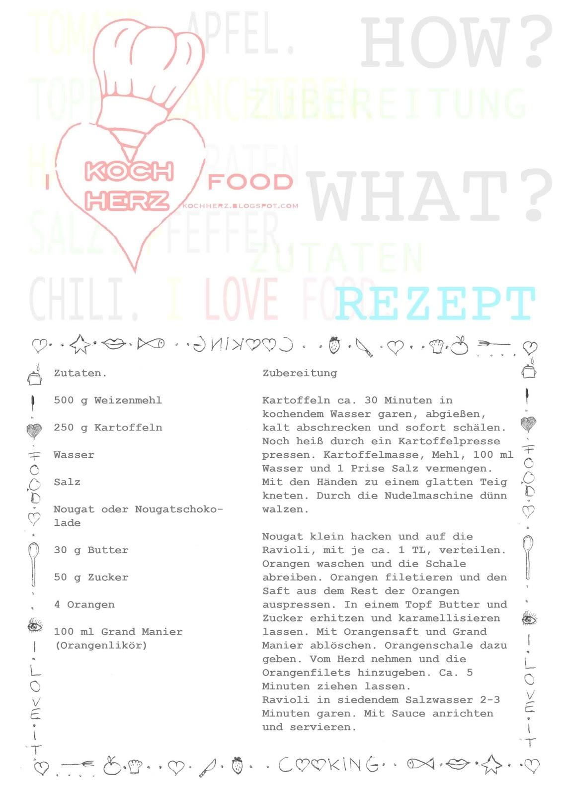 Nougatravioli - Rezept zum Download